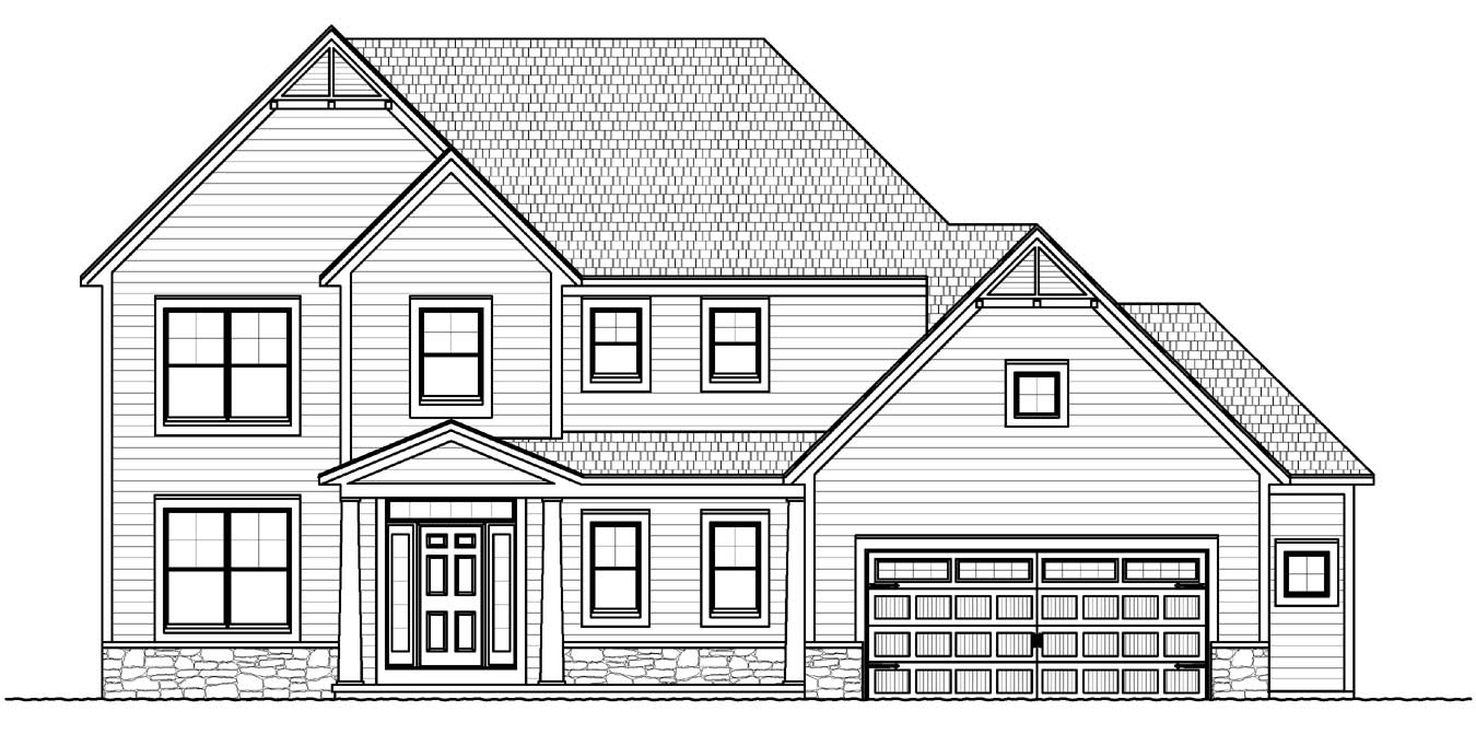 new victor, ny two story home