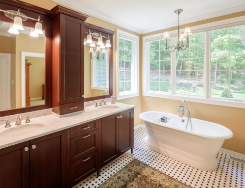 Ideas for bathrooms in a new house